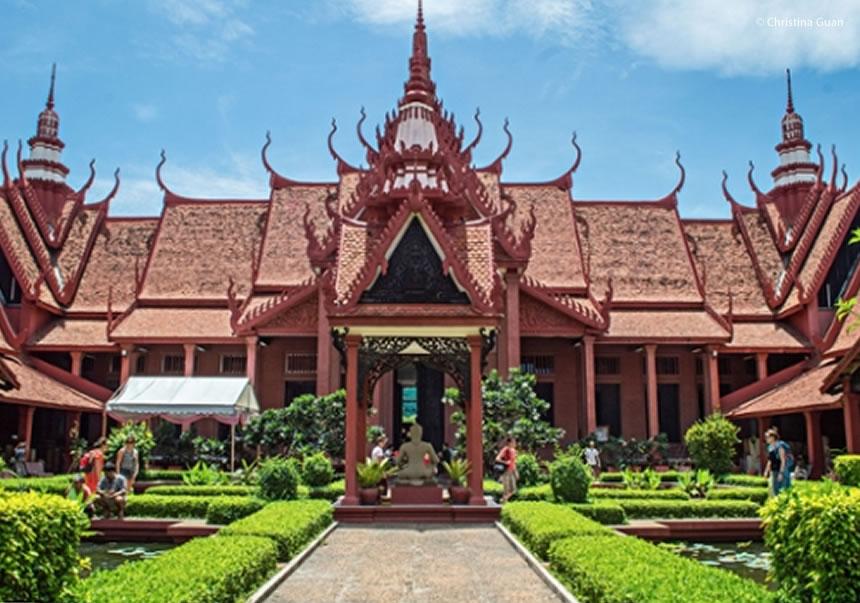 Phonm Penh, Palacio Real