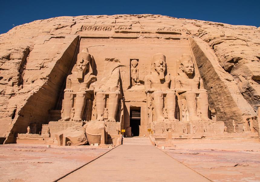 Awsan, Templo de Abu Simbel