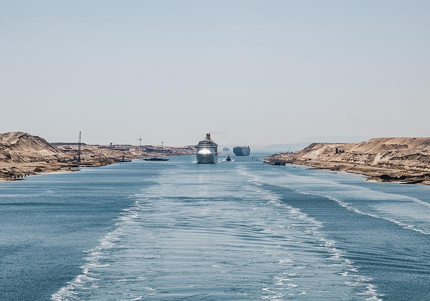 Canal de Suez, Egipto