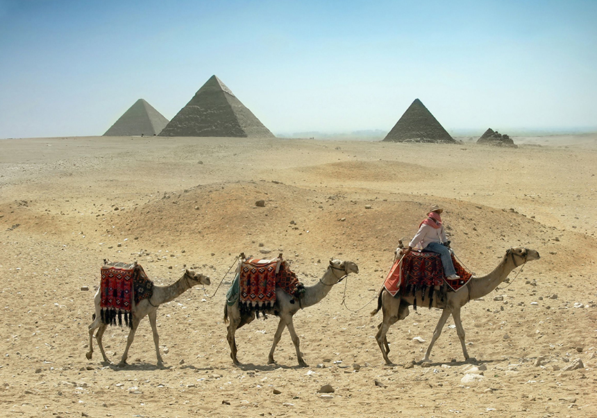 El Cairo, pirámides