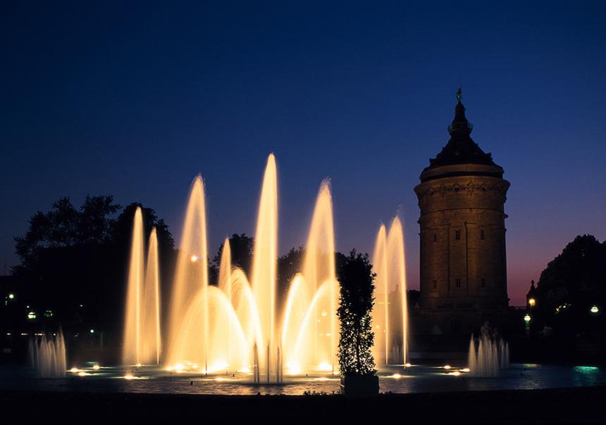 Mannheim, Centro ciudad