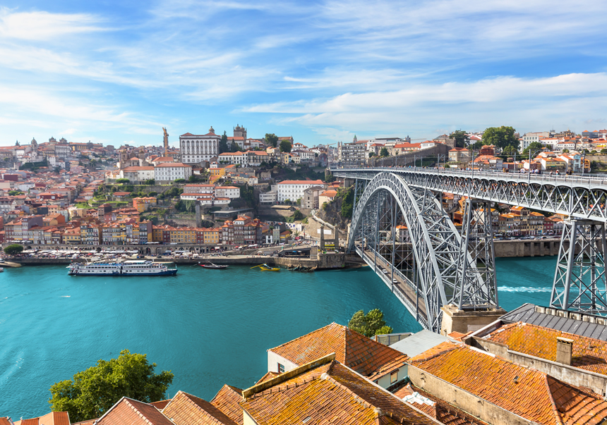 Oporto, Puente don Luiz