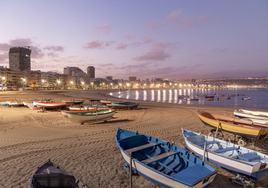 Playa de la Canteras, Las Palmas de Gran Canaria