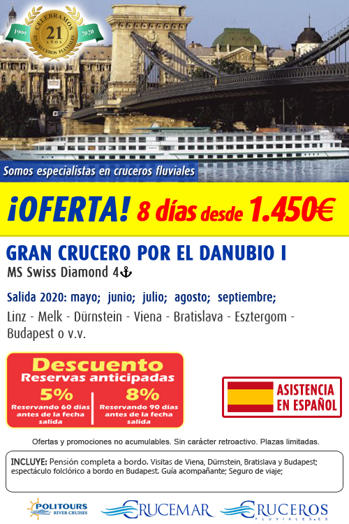 Gran Crucero por el Danubio I