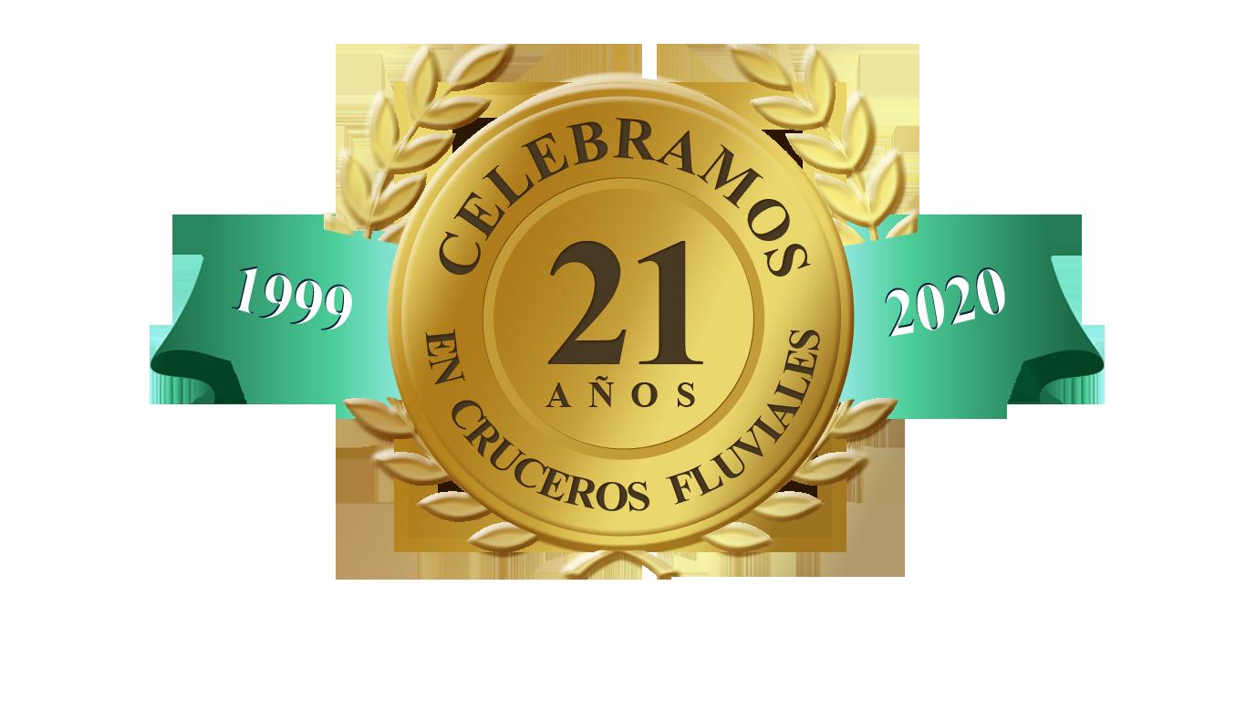 Celebramos 19 años en cruceros fluviales