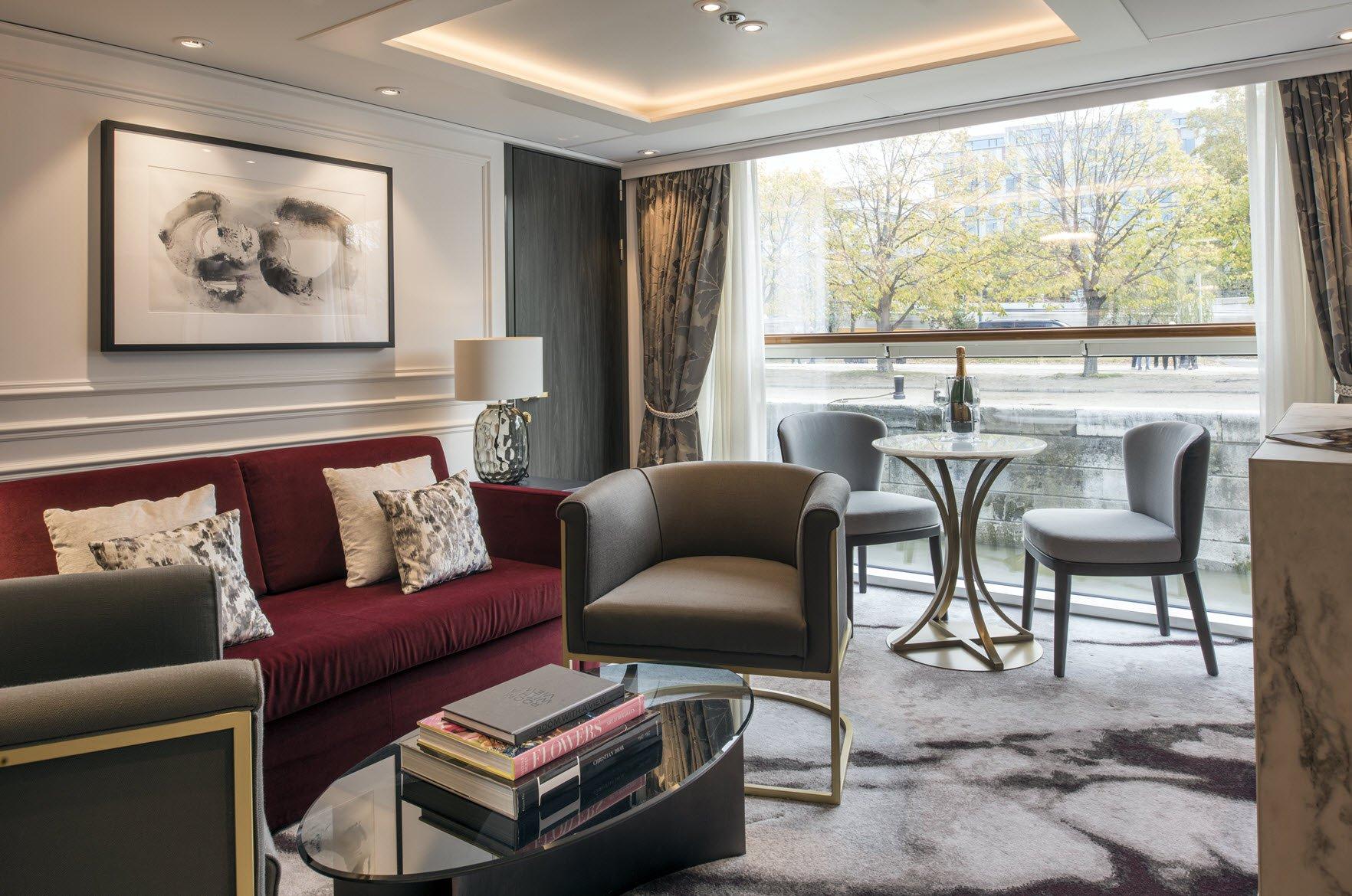 Penthouse con balcón ventana panorámica (CP)