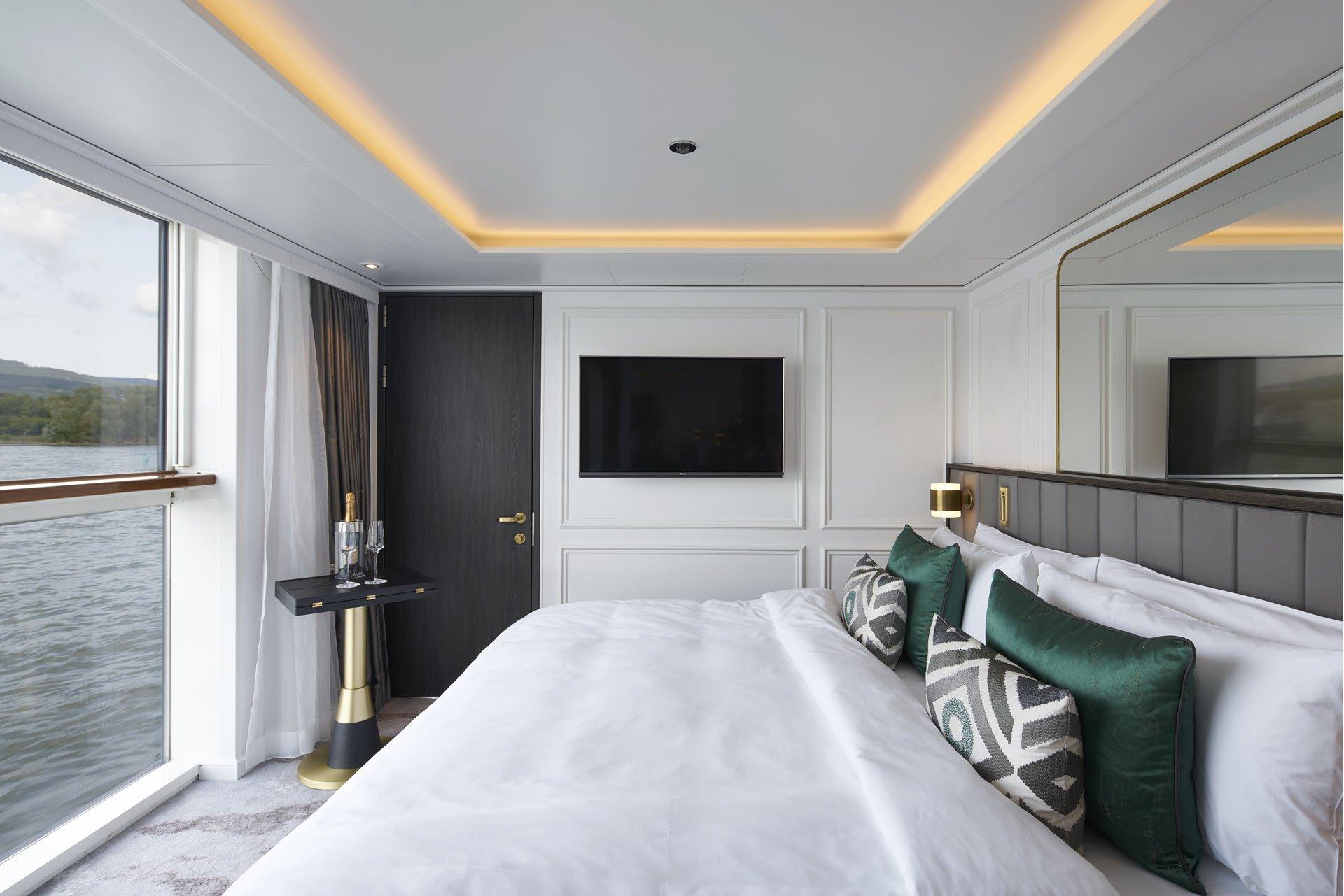 Suite de lujo con balcón ventana panorámica (S3)