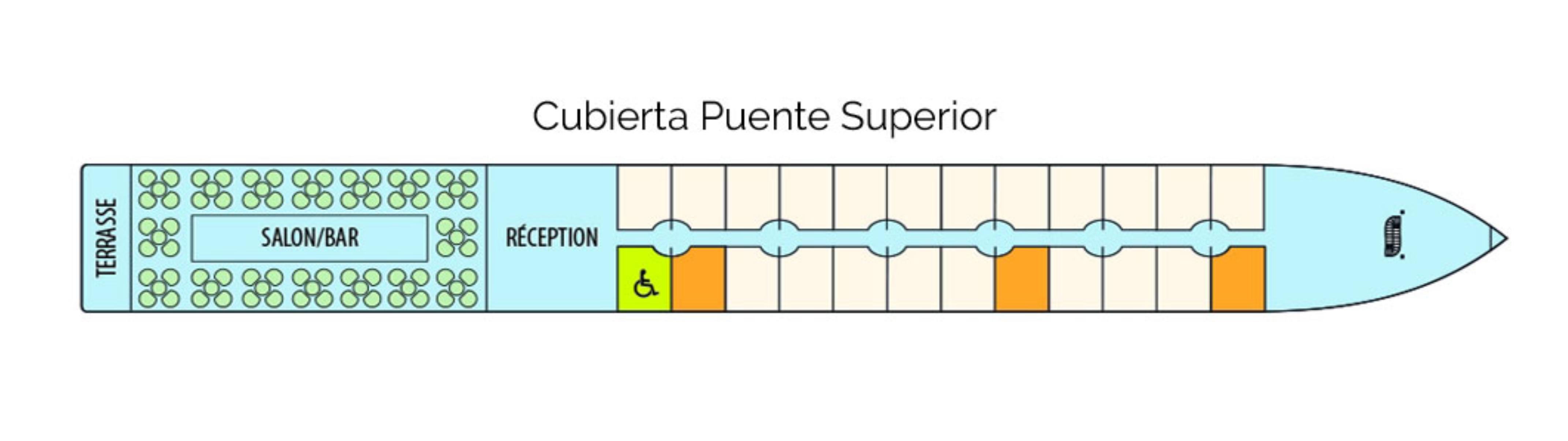 Cubierta Puente Superior