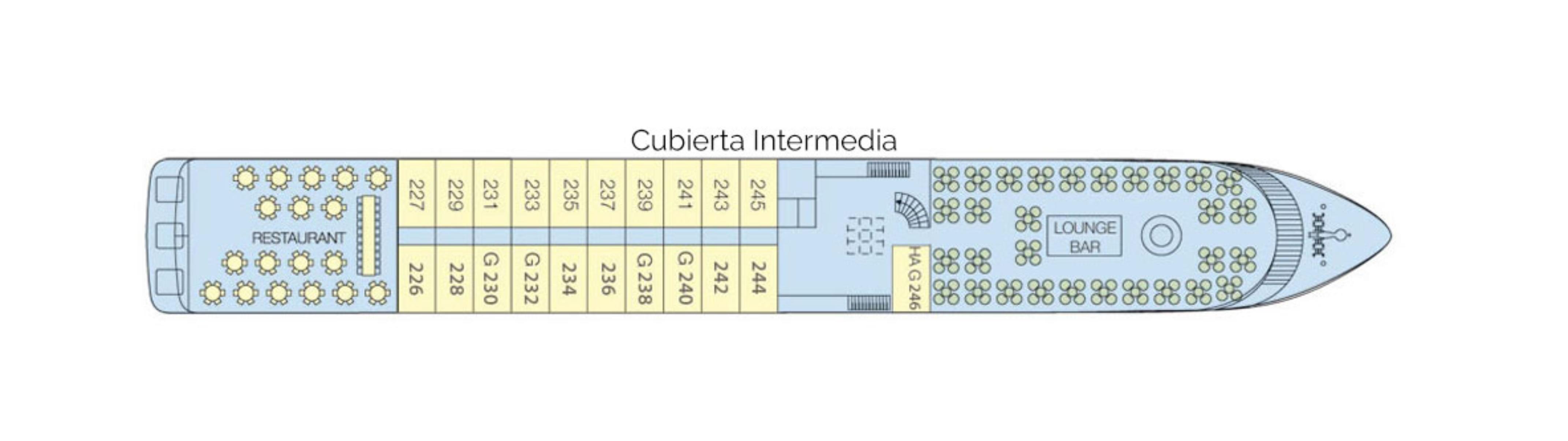 Cubierta Intermedia