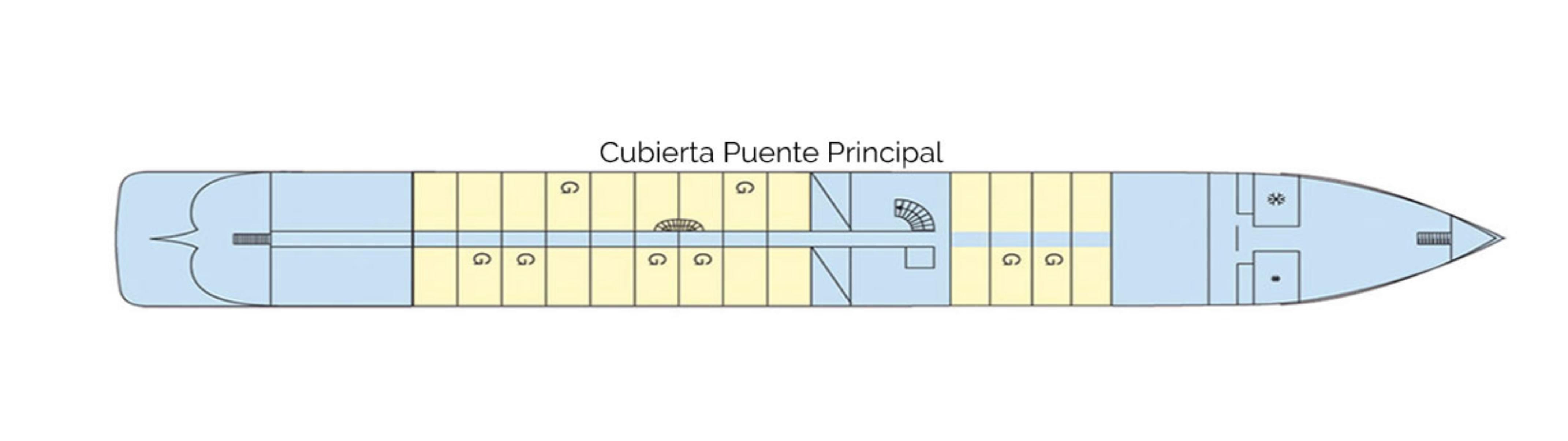 Cubierta Puente Principal