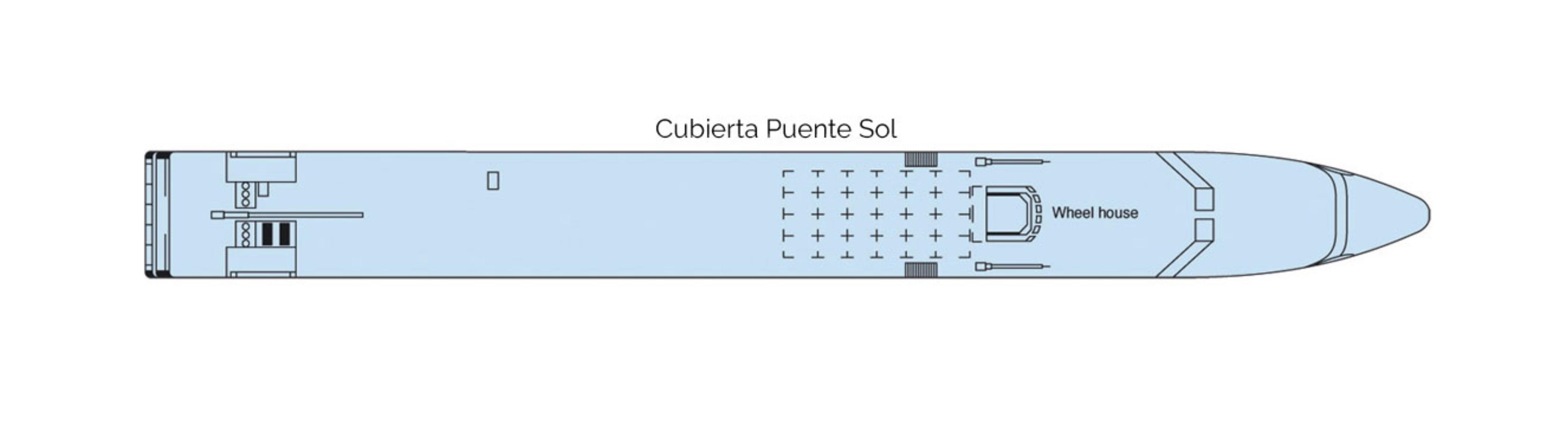 Cubierta Puente Sol