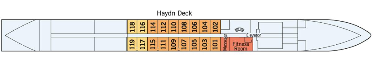Haydn Deck Amadeus Silver III