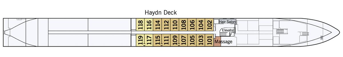 Haydn Deck Amadeus Star