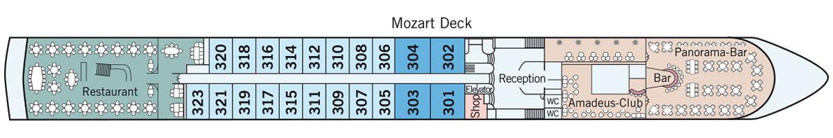 Mozart Deck Amadeus Classic