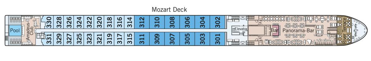 Mozart Deck Amadeus Queen