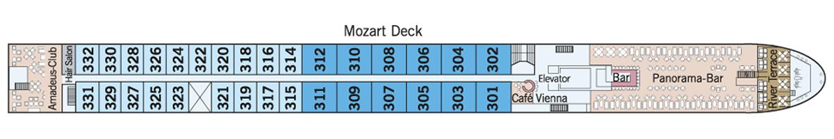 Mozart Deck Amadeus Silver III