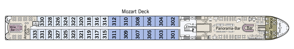 Mozart Deck Amadeus Star