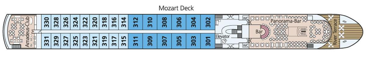 Mozart Deck Diamond