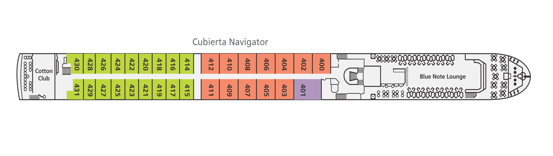 Cubierta Navigator