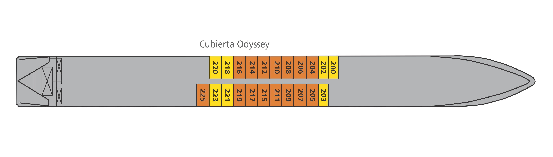 Cubierta Odyssey