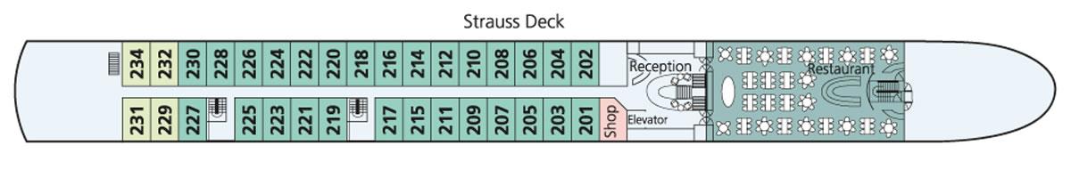 Strauss Deck Amadeus Brilliant