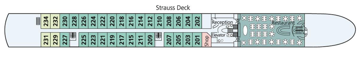 Strauss Deck Amadeus Diamond