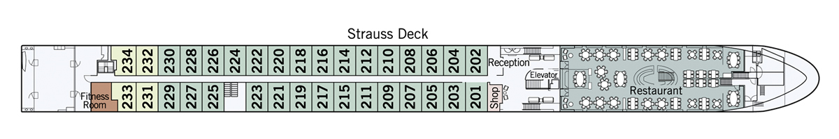 Strauss Deck Amadeus Star