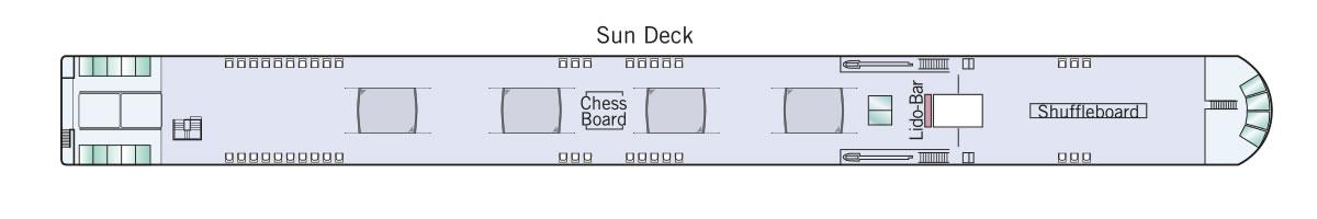 Sun Deck Amadeus Queen