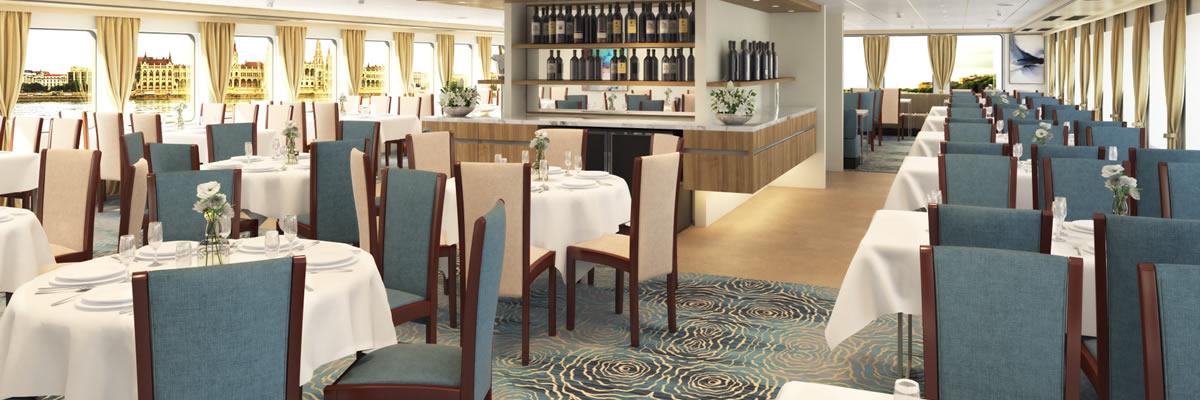 MS Crucebelle, restaurante