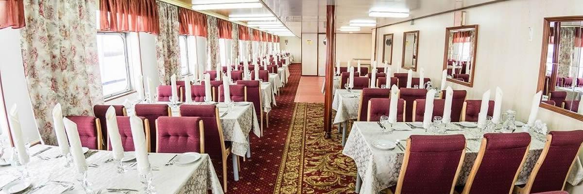 MS Crucelake, restaurante