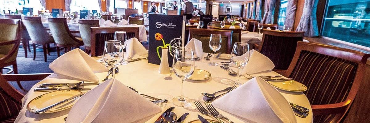 MS River Venture, restaurante