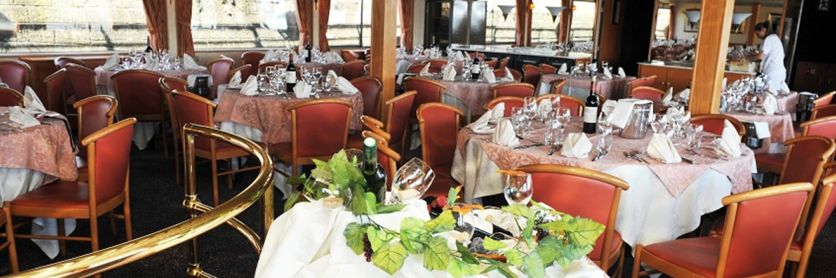 MS Rhone Princess, restaurante