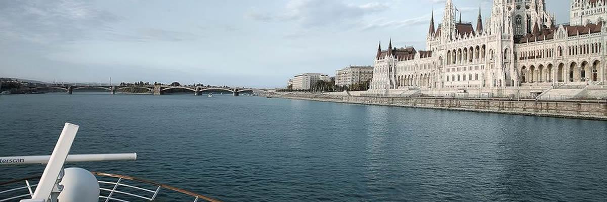 A-Rosa, crucero por el Danubio, Parlamento Budapest