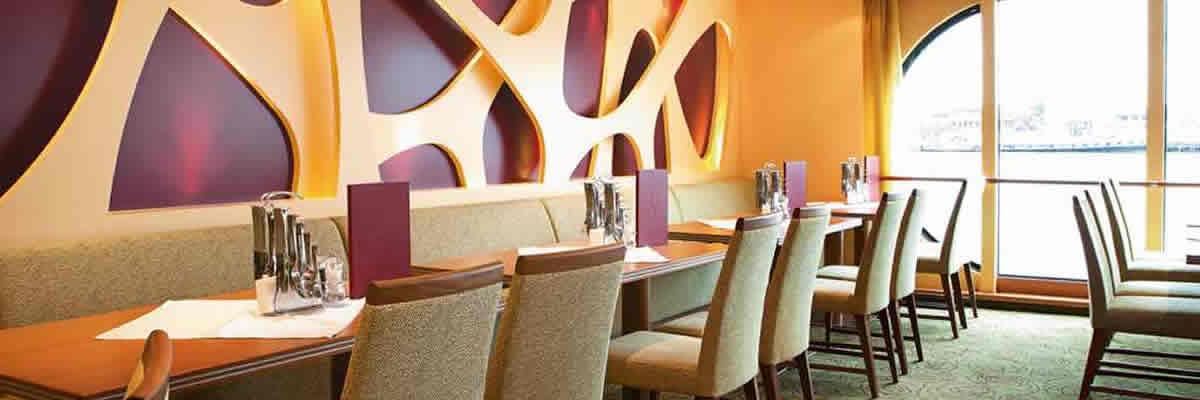 A-Rosa Silva, restaurante buffet