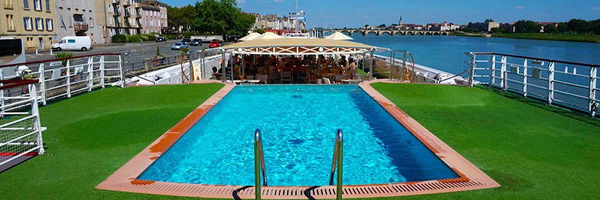 A-Rosa Stella, Puente Sol, piscina