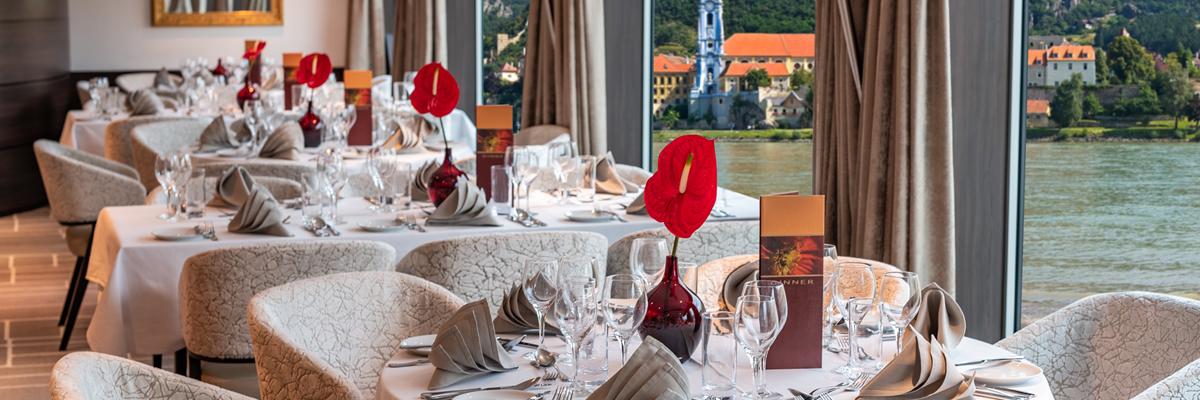 Amadeus Brilliant, Panorama restaurante