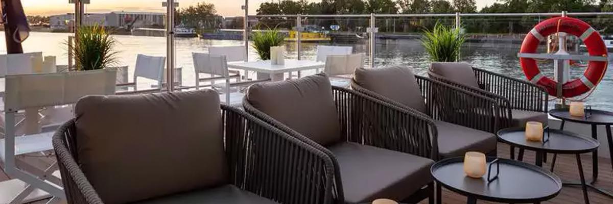 Amadeus Imperial, River terrace