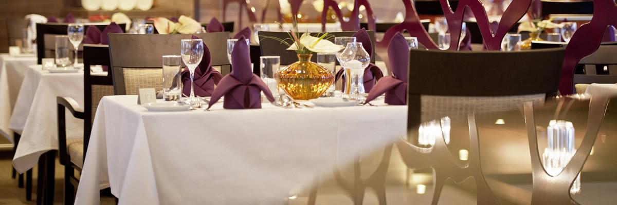 Amadeus Silver III, Restaurante Panorama