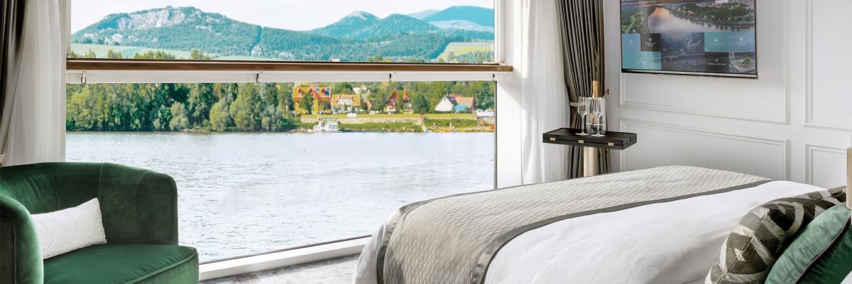 Crystal Bach, Suite de lujo con balcón ventana panorámica (S1)