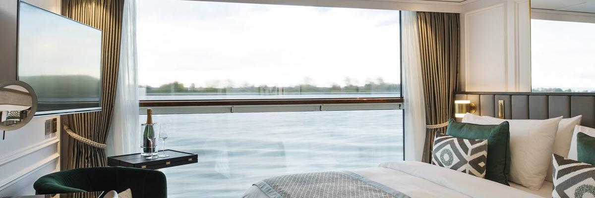 Crystal Bach, Suite pequeña con balcón ventana panorámica (S5)
