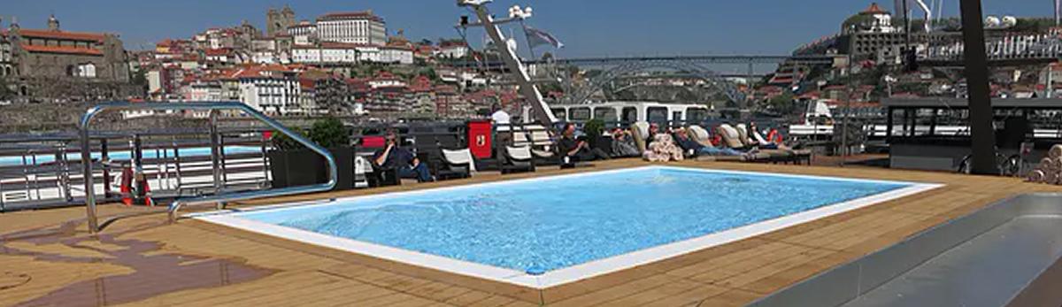 MS Douro Serenity, piscina