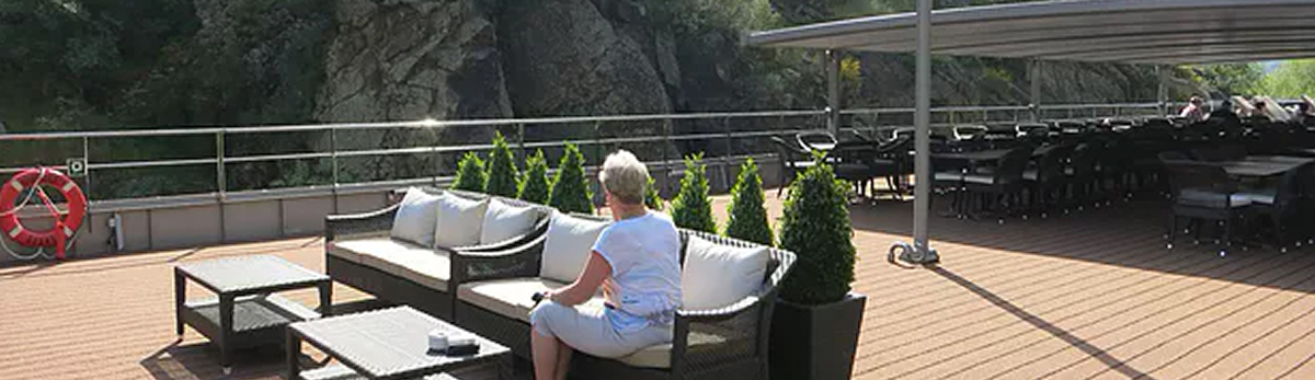 MS Douro Serenity, Sun deck
