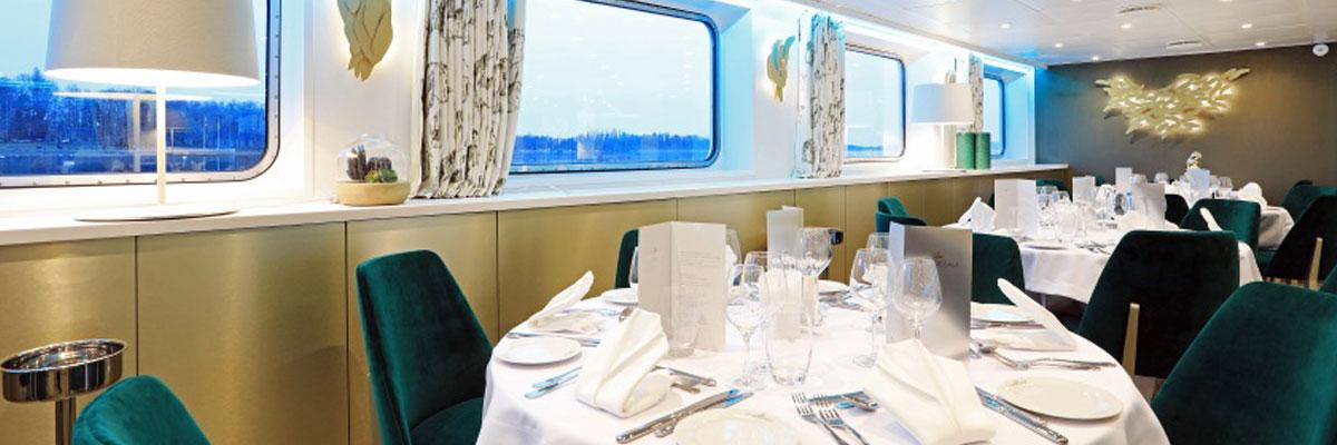 MS Elbe Princesse II, Restaurante