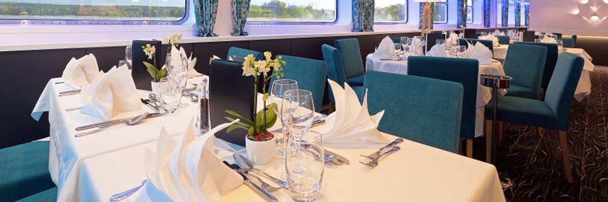 MS Elbe Princesse, Restaurante