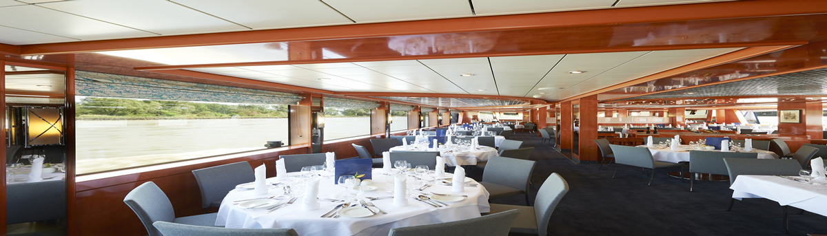 MS River Diamond, restaurante