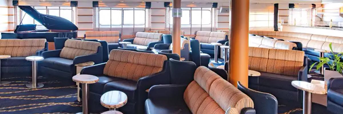 MV La Belle des Océans, Lounge Salón Bar