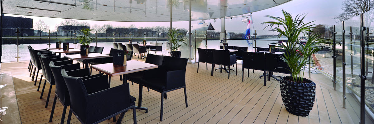 River Voyager, cubierta aire libre