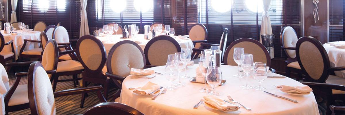 La Belle des Oceans, Restaurante