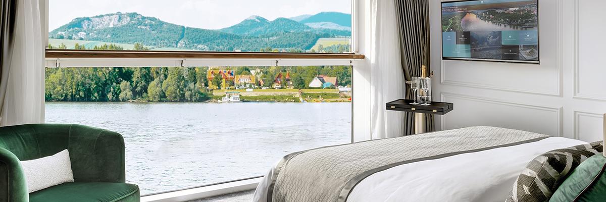 Crystal Debussy, Suite de Lujo con balcón, ventana panorámica S1