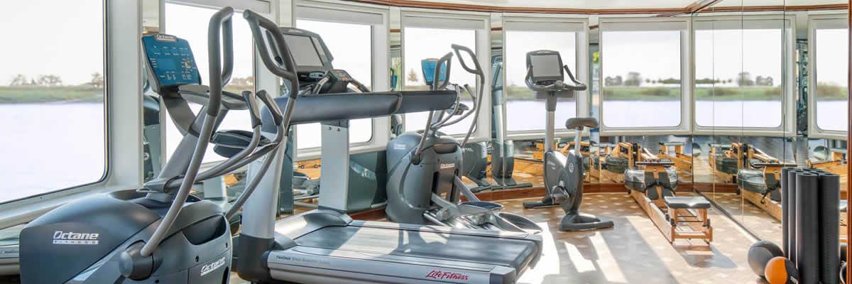 SS Bon Voyage, Fitness-Center